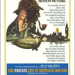 La vida privada de Sherlock Holmes. Cínico, irreverente y romántico.